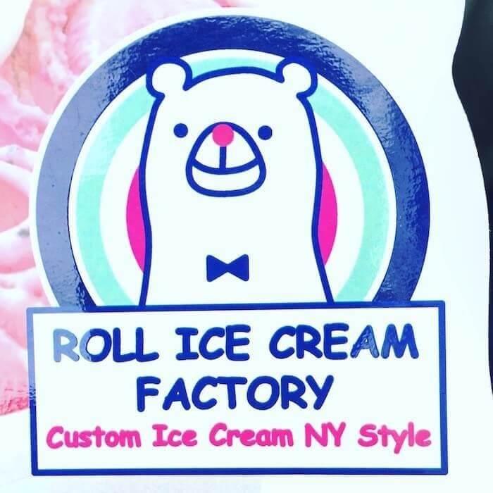 ロールアイスクリームファクトリーロゴ